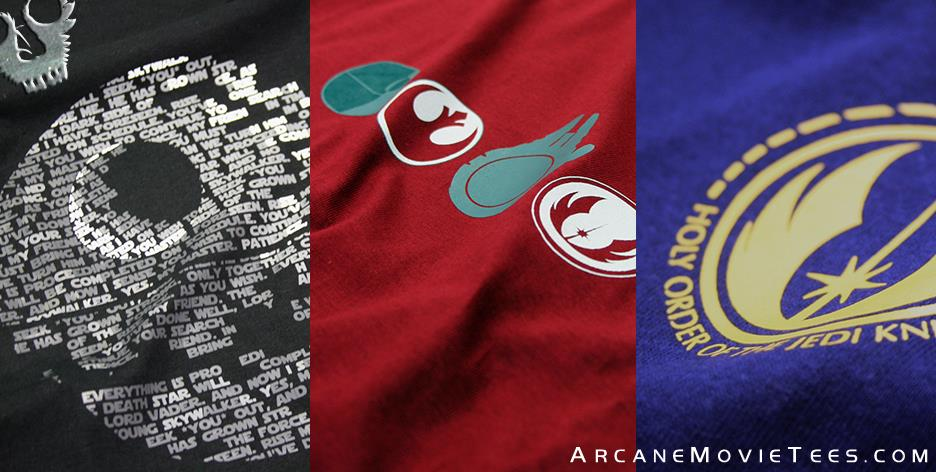 arcane movie tees