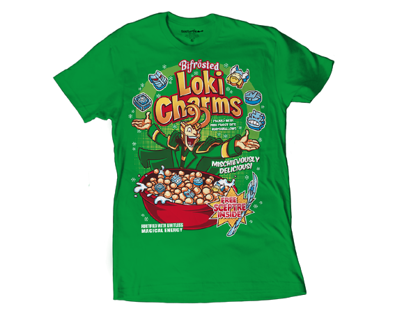 loki charms t-shirt