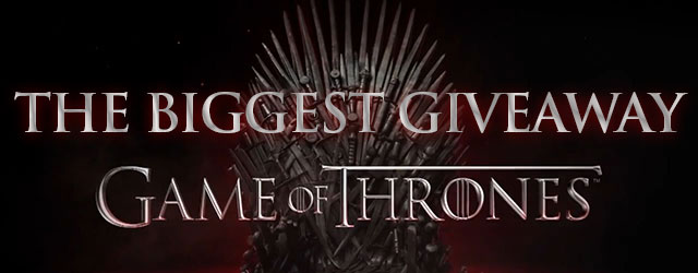 Free Game of Thrones T-shirts! Wait to see the big prize!
