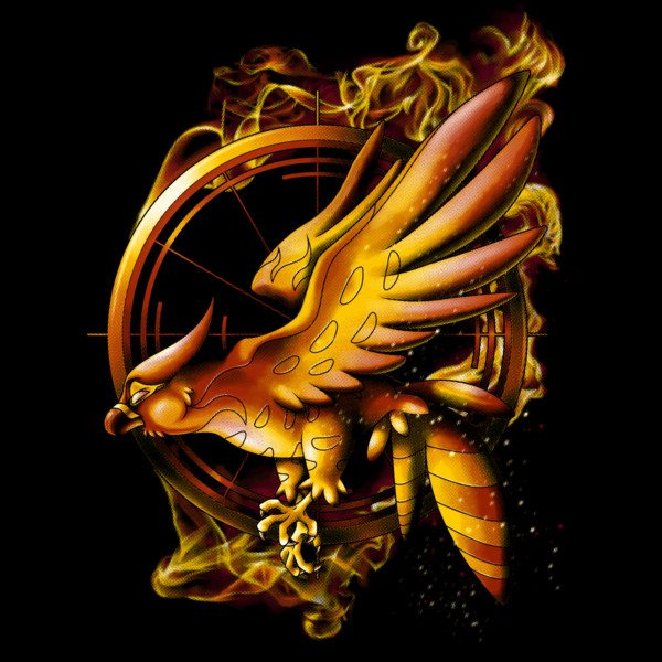 dbh catching fire tee