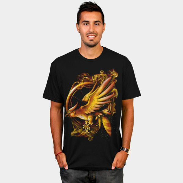 Hunger Games t-shirts dbh catching fire tee2