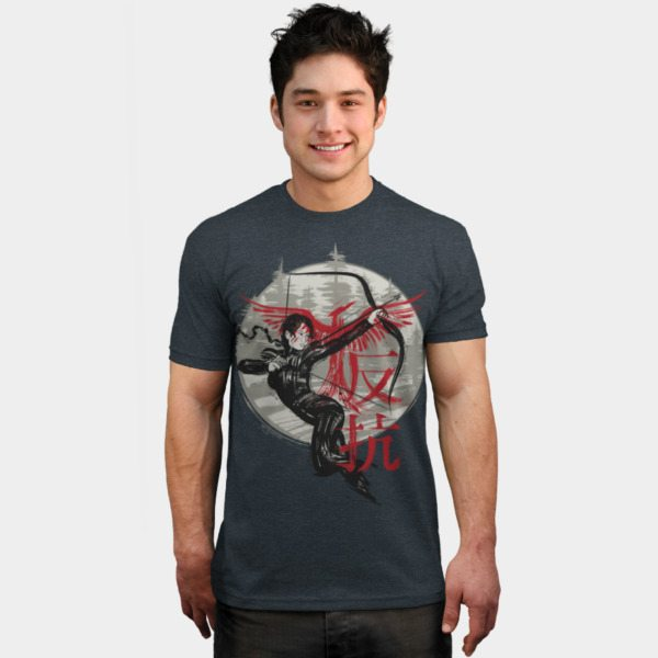 Hunger Games t-shirts dbh rebellion2
