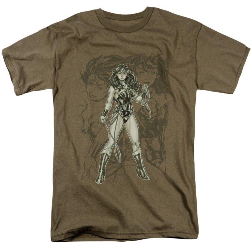 wonder woman t-shirts sketch