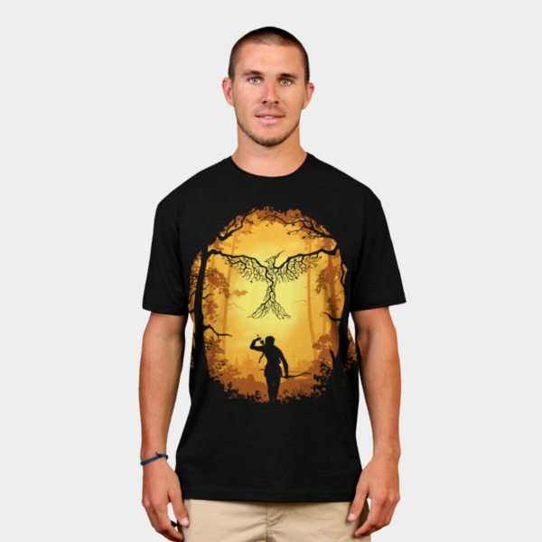 Hunger Games t-shirts symbol of rebellion2