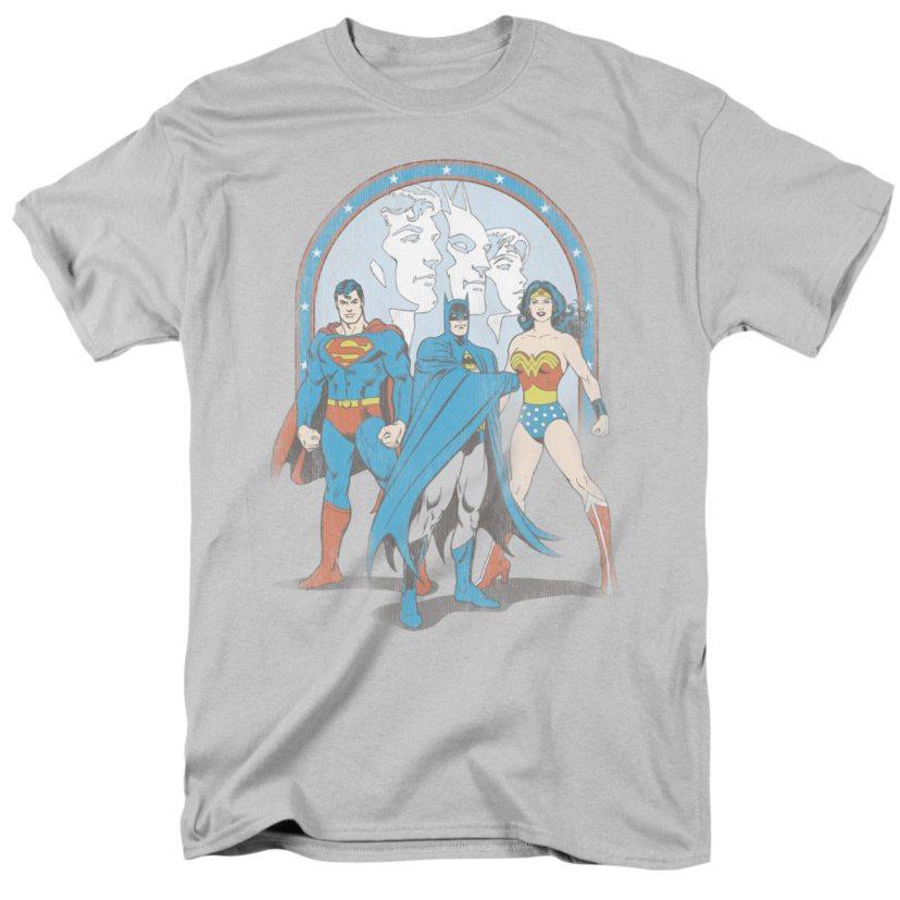 wonder woman t-shirts trinity