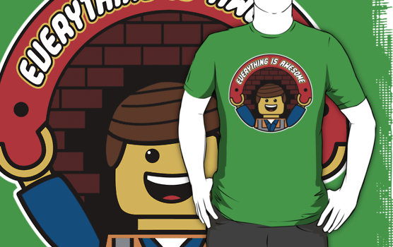 Lego Movie T-shirts awesome
