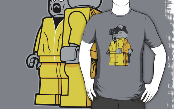 Lego Movie T-shirts bricking