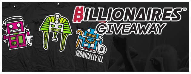 Giveaway: 2 FREE T-Shirts from Billionaires Apparel
