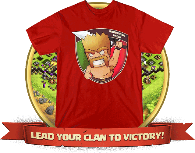 clash of clans t-shirts