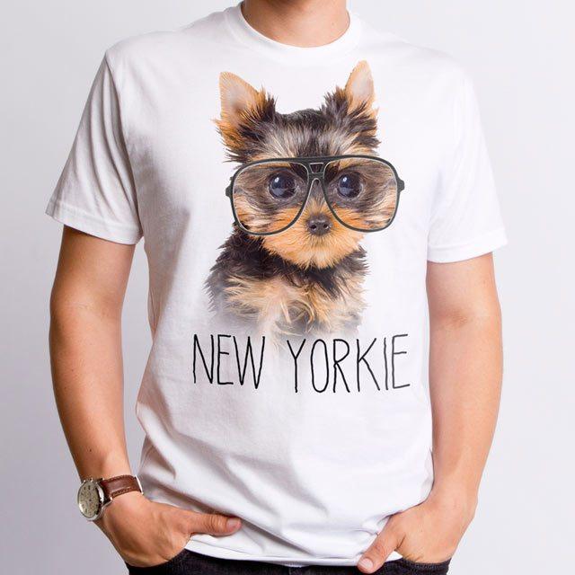 YORKIE-t-shirt