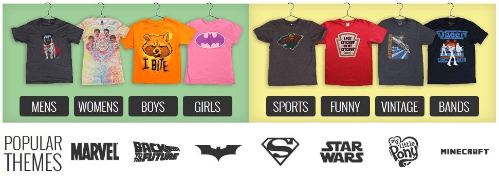 shirts dot com