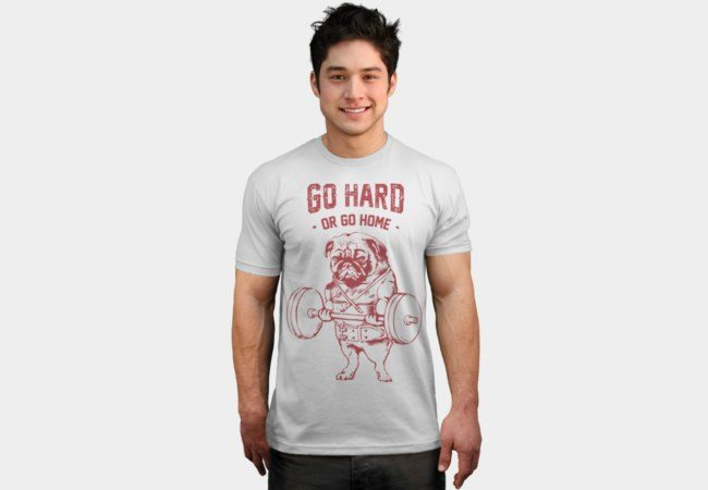 Motivational Bodybuilding T-shirts go hard