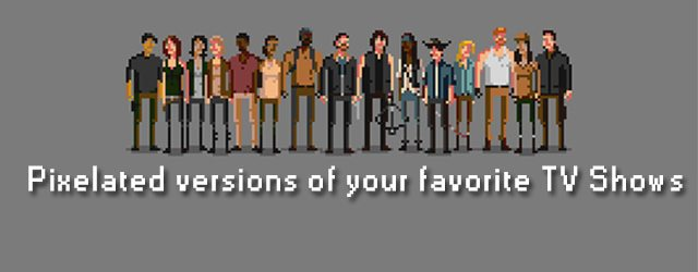 Pixelated versions of your favorite tv shows - Your favorite show ...