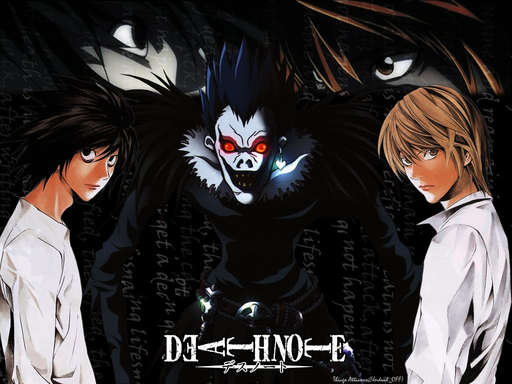 death note t-shirts