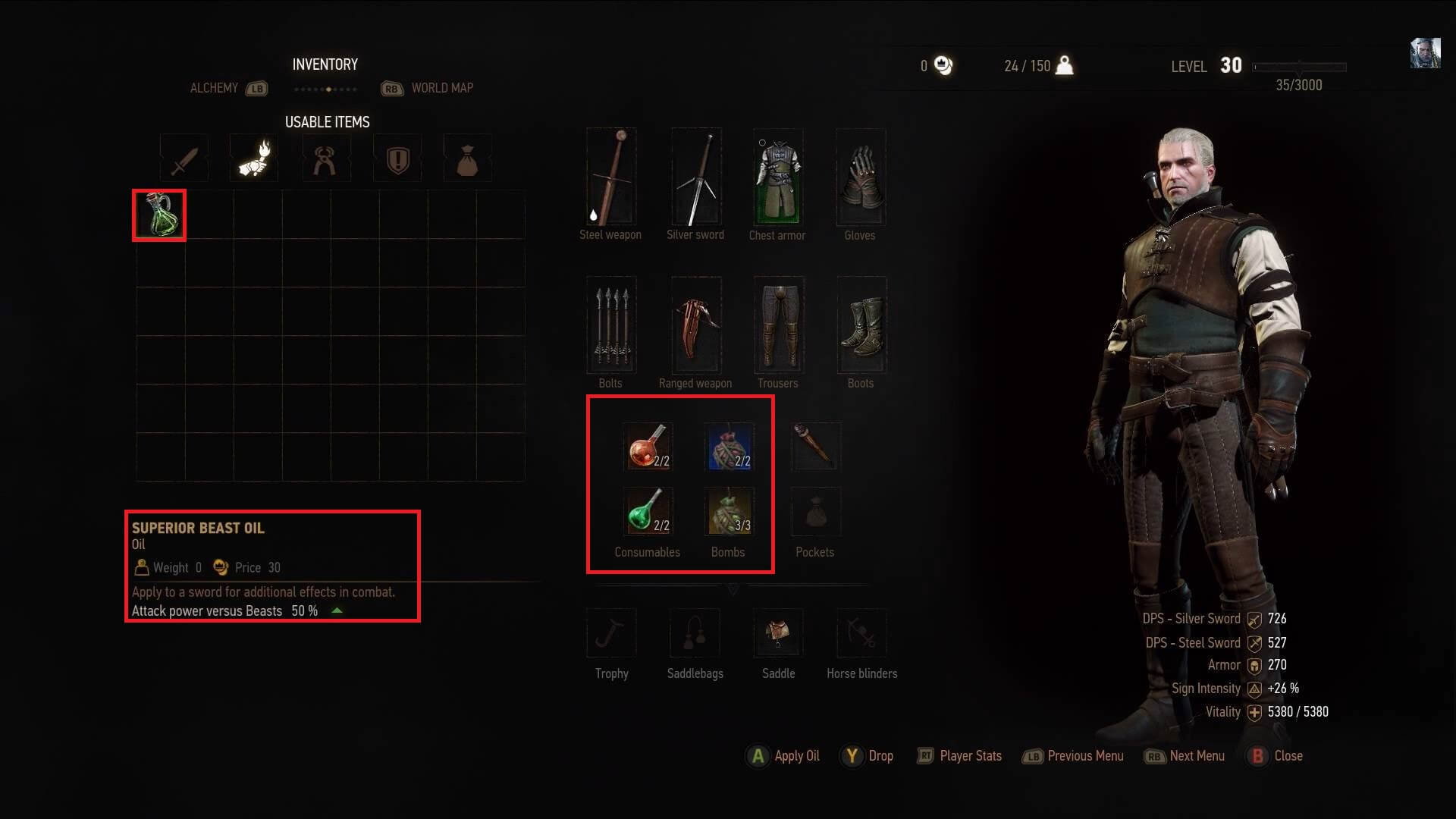 Witcher 3 Alchemy Guide alchemy consumables