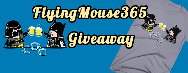 Giveaway – Win 2 FREE Tees from Flying Mouse 365
