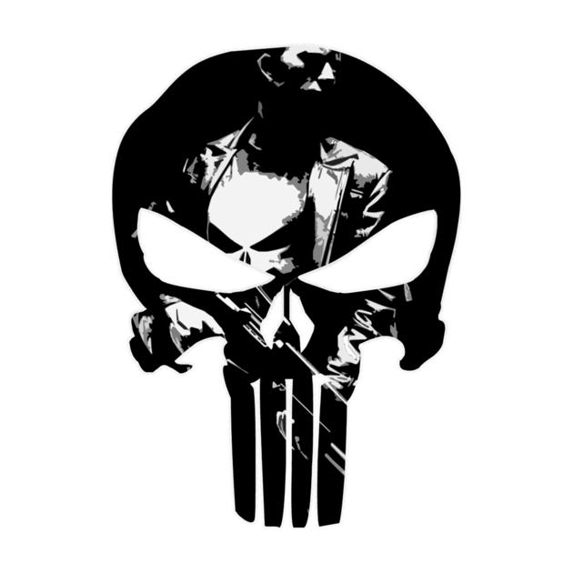 The Punisher Paint It Black