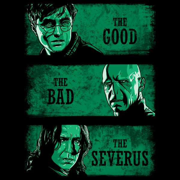 The-Good-the-Bad-and-the-Severus-green