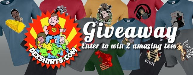 Giveaway: Win 2 FREE Tees from Dex Shirts
