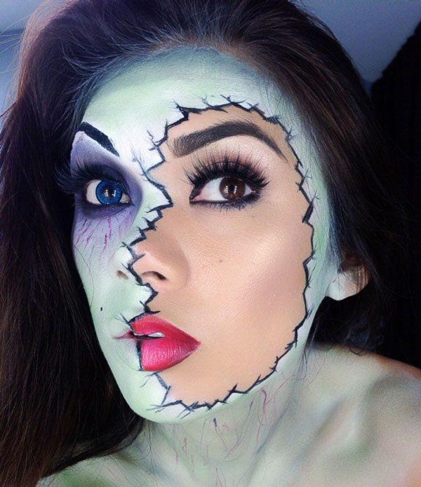 Most Original Halloween Makeup Ideas - TeeHunter.com