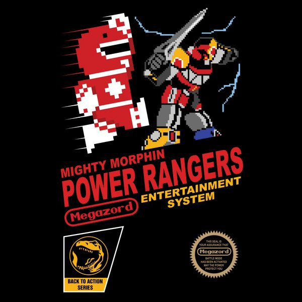 8-bit-Power-Rangers