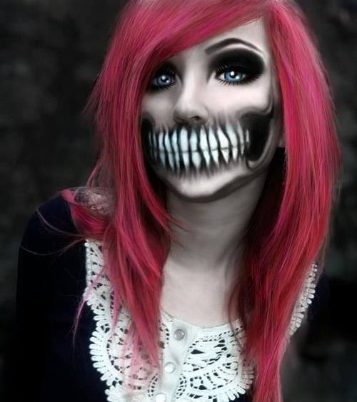 original halloween makeup ideas halloween makeup mouth 5 - Original Ideas For Halloween
