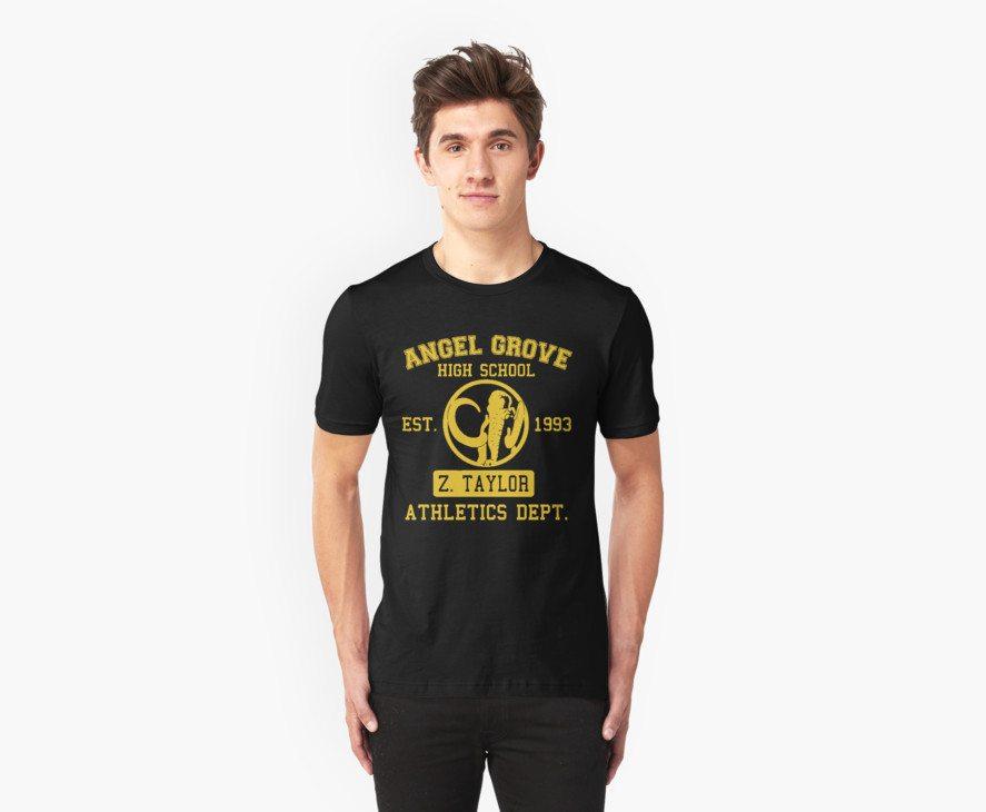 Power Rangers t-shirts angel grove hs