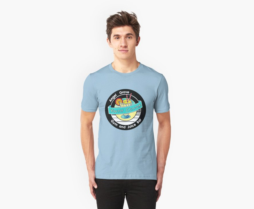 Power Rangers t-shirts angel grove youth