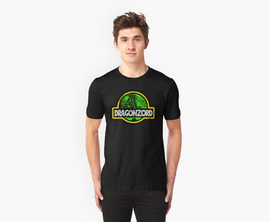 Power Rangers t-shirts jurassic power ramgers
