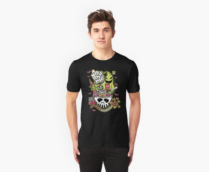Nightmare before Christmas t-shirts oogie boogie loops