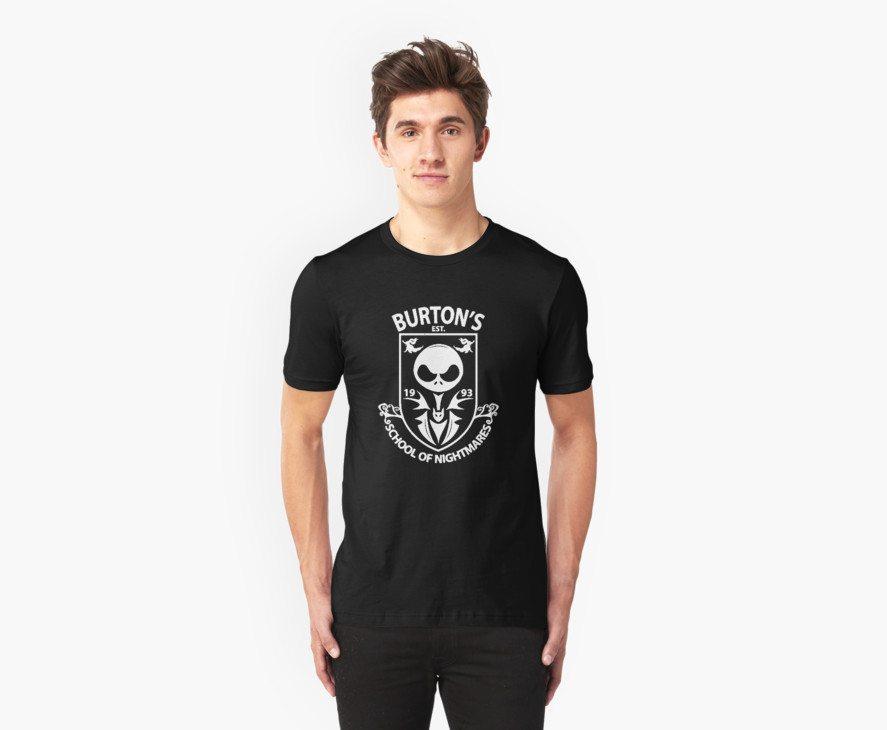 Nightmare before Christmas t-shirts school of nightmare