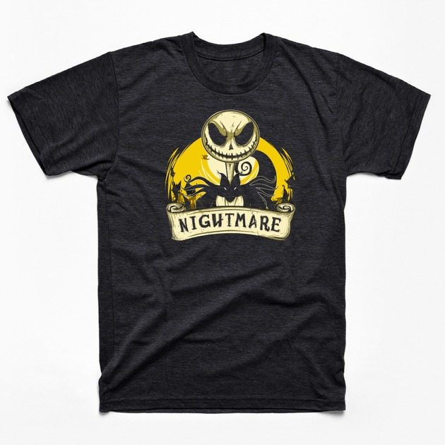 Nightmare before Christmas t-shirts tp nightmare2