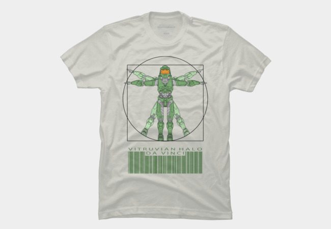 Real Spartans Wear Halo T-Shirts! - TeeHunter.com