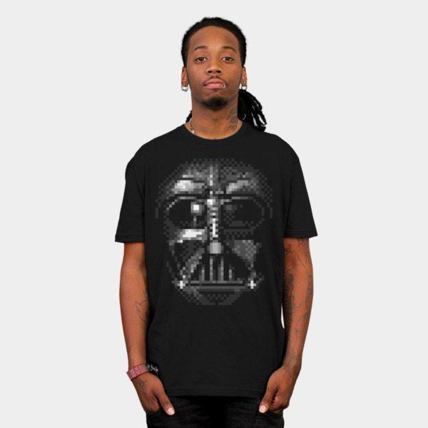 Darth Vader Pixel Face