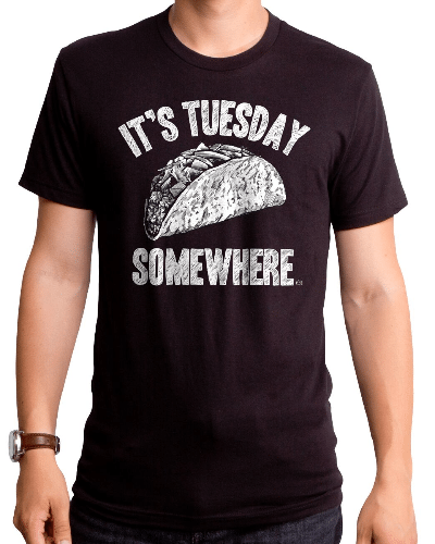 Taco Tuesday Men's T-Shirt