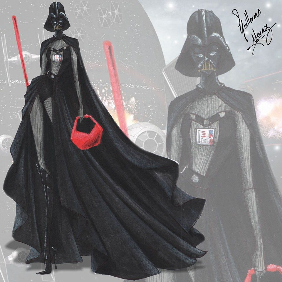 inpsired by Darth Vader