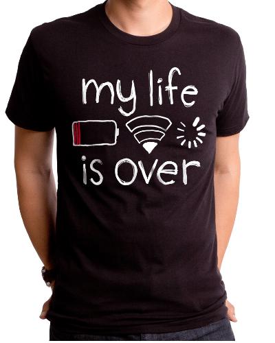 Mye Life Is Over Men's T-Shirt