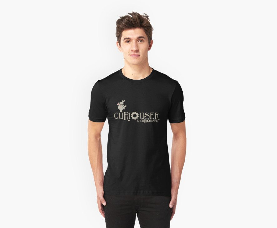Curiouser & Curiouser Alice in Wonderland Shirt
