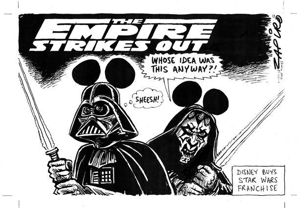 Star wars + Disney