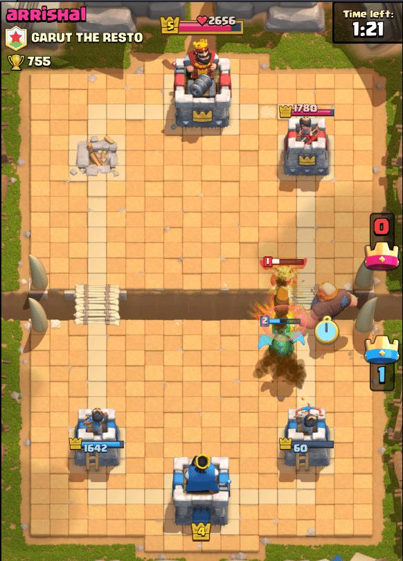 clash 6 newb deck
