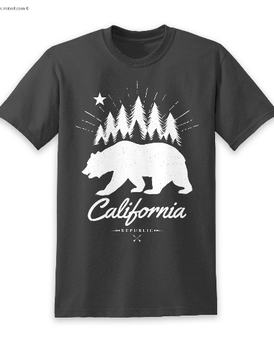 California Republic Bear White
