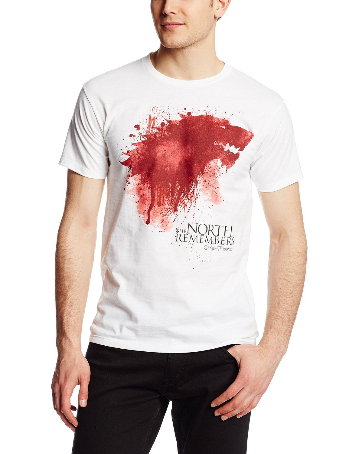 HBO'S Game of Thrones Men's The North Remembers T-Shirt