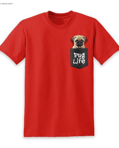 Pug Life Pocket
