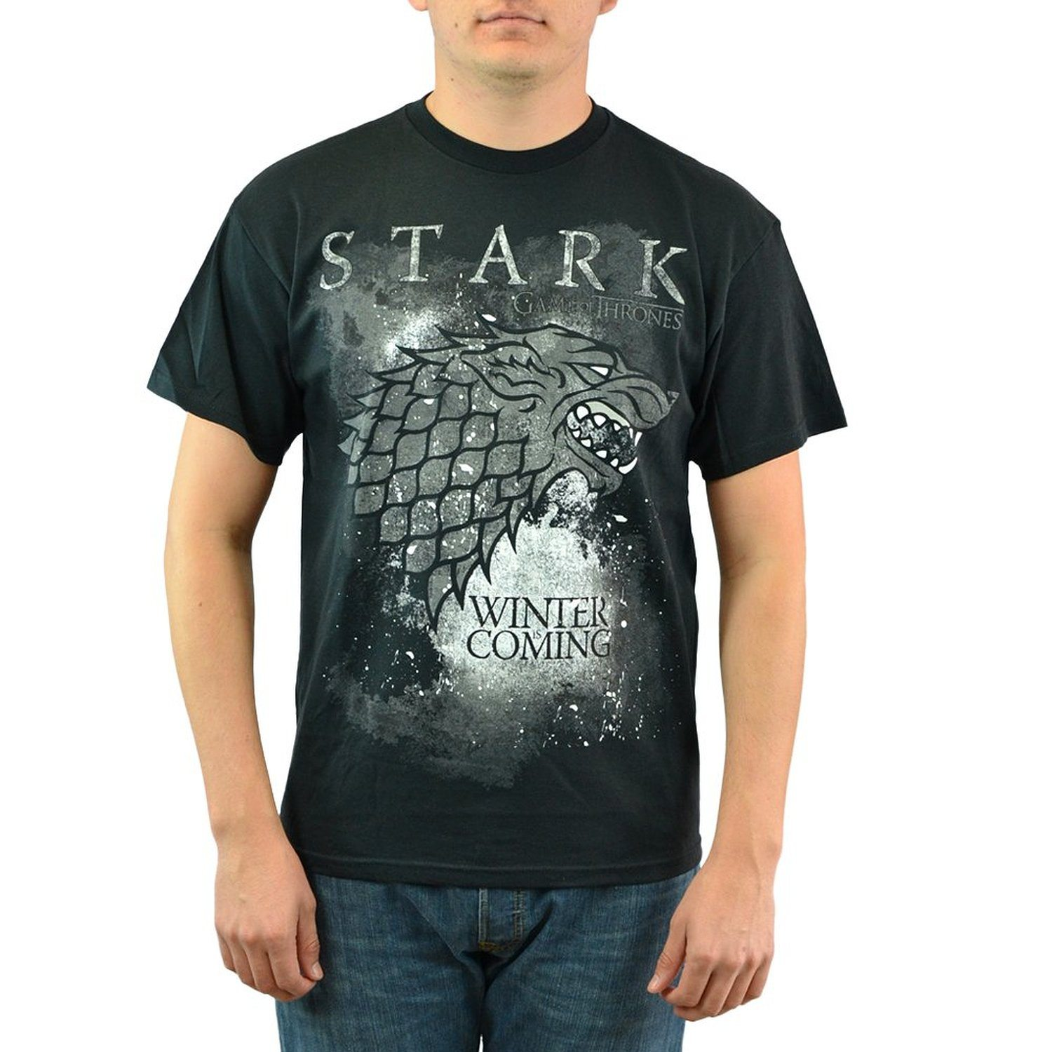 Game Of Thrones Winter Is Coming Stark Black