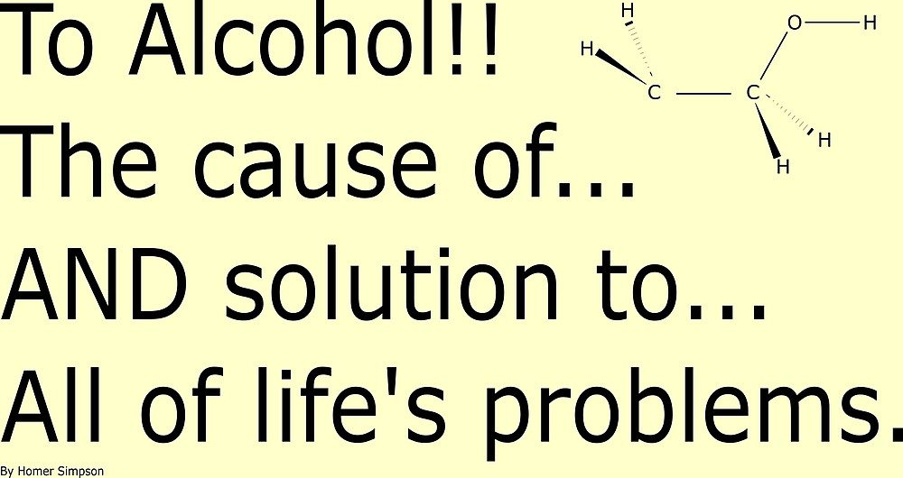 To alcohol!!!