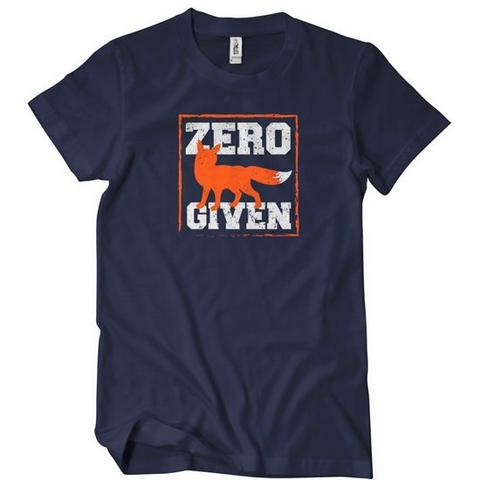 Zero Fox Given T-Shirt | Textual Tees