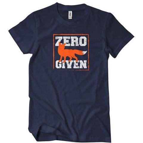 Zero Fox Given T-Shirt | Textual Tees