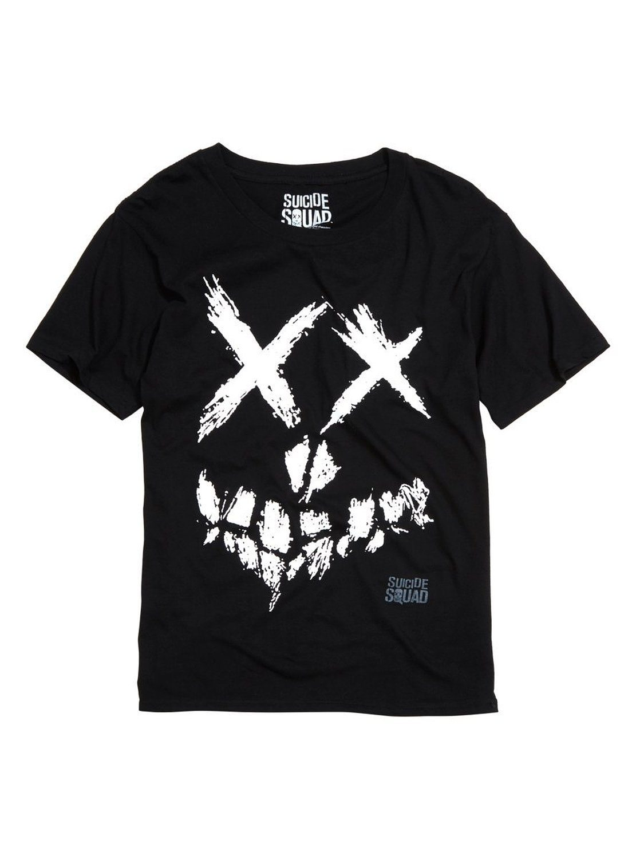 DC Comics Suicide Squad Smiley Skull Logo