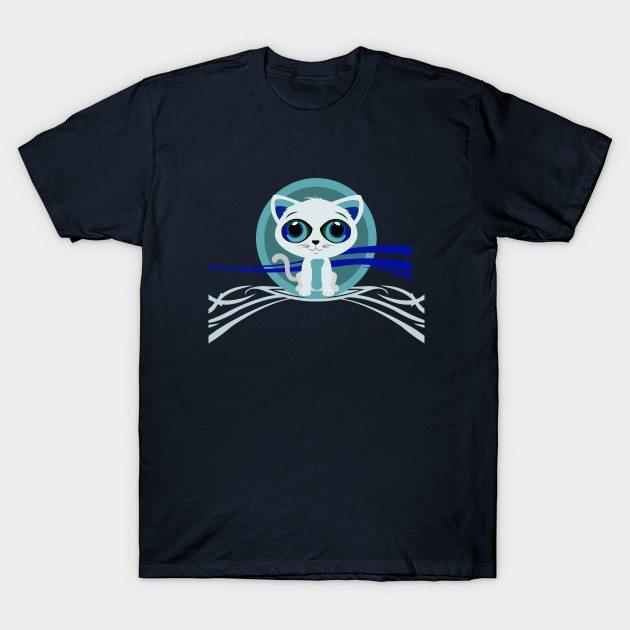 Kitten – Blue T-Shirt