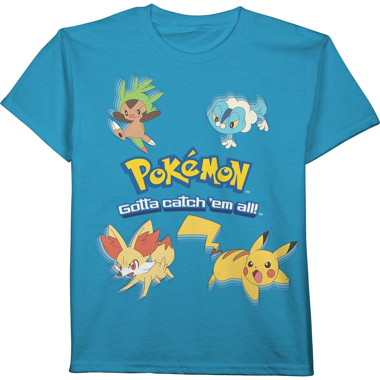 Pokemon Catch 39 Em All Boys T Shirt